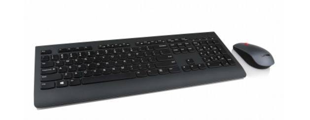 Lenovo 4X30H56828 teclado RF inalámbrico QWERTY Inglés del Reino Unido Negro