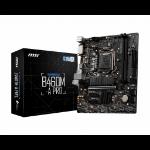 MSI B460M-A PRO motherboard LGA 1200 Micro ATX Intel B460