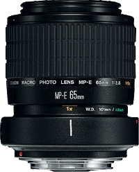 Canon MP-E65mm f/2.5 1-5 x Macro Photo Black