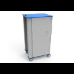 NUWCO IBOXX Cart Portable device management cart Blue, Grey