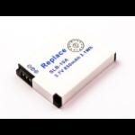 MicroBattery MBXSA-BA0004 camera/camcorder battery Lithium-Ion (Li-Ion) 850 mAh