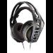 Plantronics RIG 400 auricular con micrófono Diadema Binaural Beige, Gris, Naranja