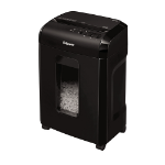 Fellowes Powershred 10M paper shredder Micro-cut shredding Black