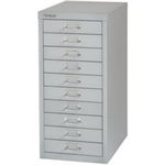 Bisley FF BISLEY NON LOCK 10 MULTIDRAWER GREY