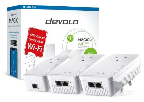 Devolo Magic 2 WiFi next 2400 Mbit/s Ethernet LAN Wi-Fi White