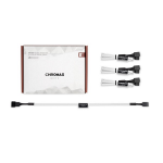 Noctua NA-SEC1 Chromax.White 30cm 4Pin PWM Power Extension Cables (4 Pack)