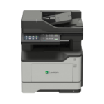 Lexmark Network ready; Print, copy, scan, fax; Duplex; 40 ppm; 1 GHz Dual-core; 1GB RAM; 4.3-inch colour LCD