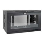 Tripp Lite SRW9UDPGVRT rack cabinet 9U Wall mounted rack Black