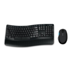 Microsoft Sculpt Comfort Desktop RF Wireless QWERTZ German Black keyboard