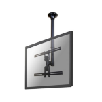 "Newstar FPMA-C400BLACK 60"" Black flat panel ceiling mount"