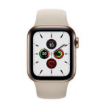 Apple Watch Series 5 OLED 40 mm Gold 4G GPS (satellite)