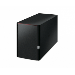 Buffalo LinkStation 220, 2TB Opslagserver Ethernet LAN Zwart