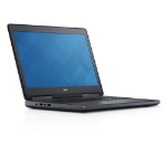 "DELL Precision 7520 2.7GHz i7-6820HQ 15.6"" 3840 x 2160pixels Black Mobile workstation"