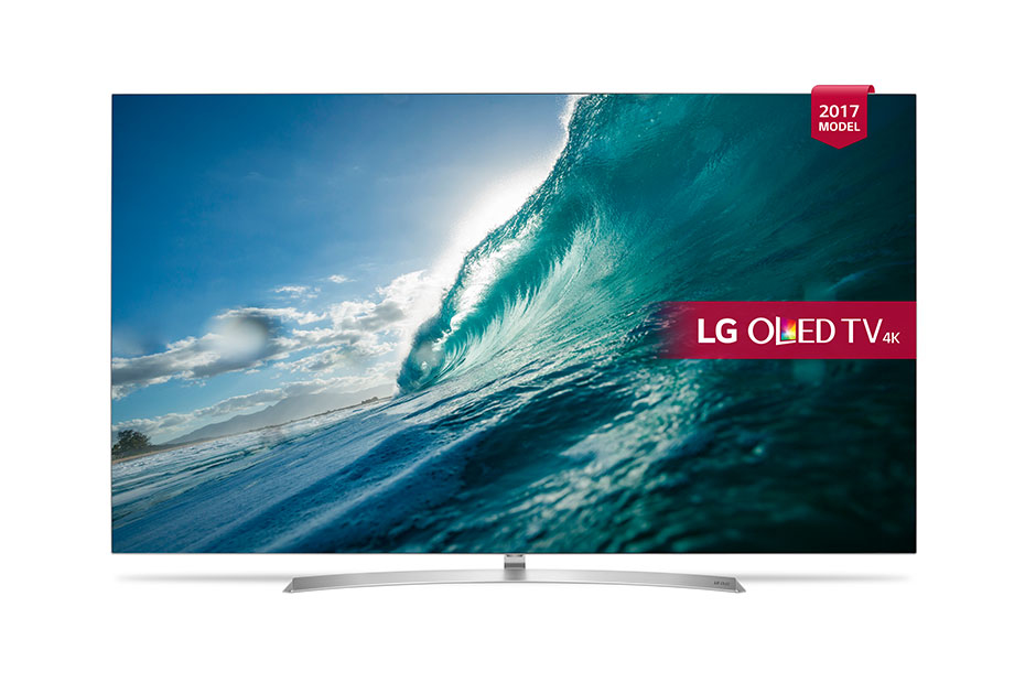 "LG OLED55B7V 55"" 4K Ultra HD Smart TV Wi-Fi Silver,White LED TV"