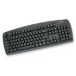 Kensington 64338 USB+PS/2 QWERTY Black keyboard