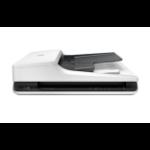 HP Scanjet Pro 2500 f1 1200 x 1200 DPI Escáner de superficie plana y alimentador automático de documentos (ADF) Negro, Blanco A4