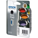 Epson C13T04014010 (T040) Ink cartridge black, 600 pages, 17ml