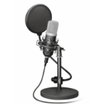 Trust 21753 Studio microphone Wired Black microphone