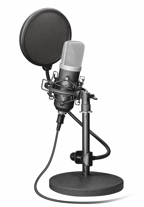 Trust 21753 micrófono Micrófono de estudio Negro