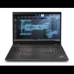 "Lenovo ThinkPad P52s 1.8GHz i7-8550U 15.6"" 1920 x 1080pixels Black Mobile workstation"