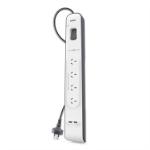 Belkin BSV401AU2M surge protector Black, White 4 AC outlet(s) 2 m