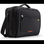 "Case Logic 16"" Professional Laptop Briefcase notebook case 16"" Black"