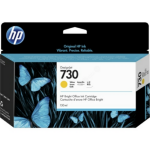 HP P2V64A (730) Ink cartridge yellow, 130ml