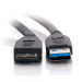 C2G 1m USB 3.0 A Male to Micro B Male Cable