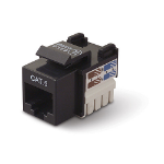 Belkin Category 6 RJ45 Jack - Black