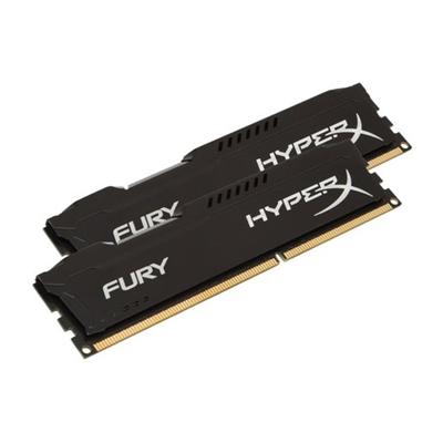 KINGSTON HyperX 16GB FURY Black Heatsink (2x8GB) DDR3 1866MHz DIMM System Memory