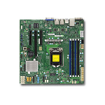 Supermicro X11SSL-F server-/werkstationmoederbord LGA 1151 (Socket H4) Micro ATX Intel® C232