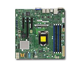 Supermicro X11SSL-F server/workstation motherboard LGA 1151 (Socket H4) Micro ATX Intel® C232