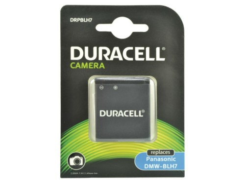 Duracell Camera Battery - replaces Panasonic DMW-BLH7E Battery