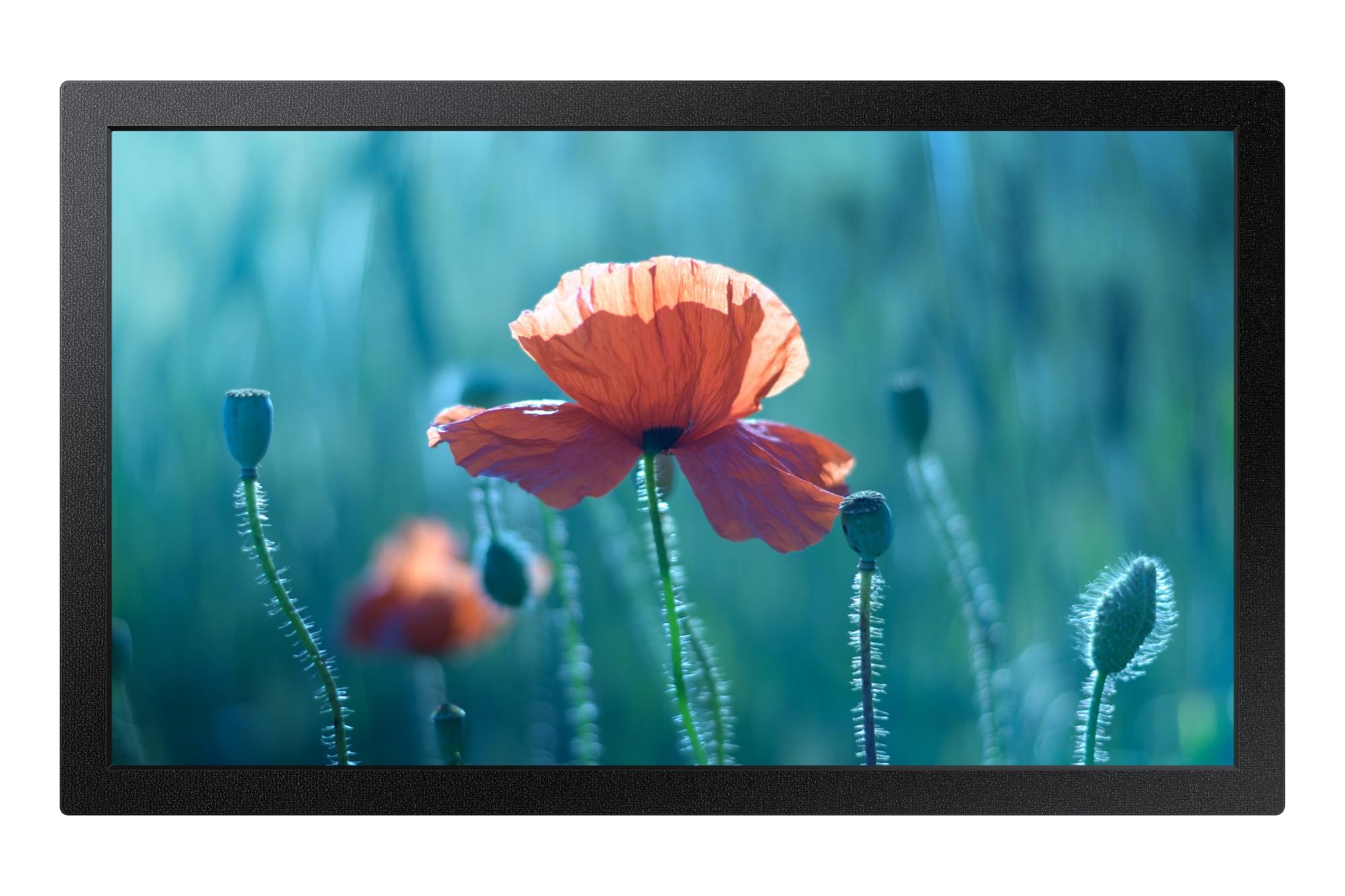 "Samsung QB13R Digital signage flat panel 33 cm (13"") Full HD Black"