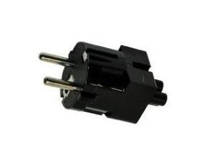 HP 720949-021 POWER PLUG ADAPTER TYPE C (EUROPLUG) BLACK