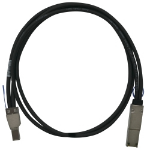 QNAP CAB-SAS05M-8644-8088 1m Black Serial Attached SCSI (SAS) cable