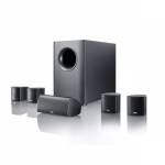 Canton Movie 75 speaker set 5.1 channels Black