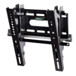 "Hama ""Next Light"" LCD/PL/LED Wall Bracket, VESA 200x200, can be tilted, black Black"