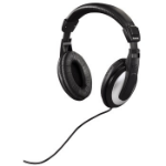 Hama HK-5619 Black,Silver Head-band headphone