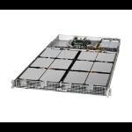 Supermicro SuperStorage 5019D8-TR12P Intel SoC FCBGA2518 Rack (1U) Black