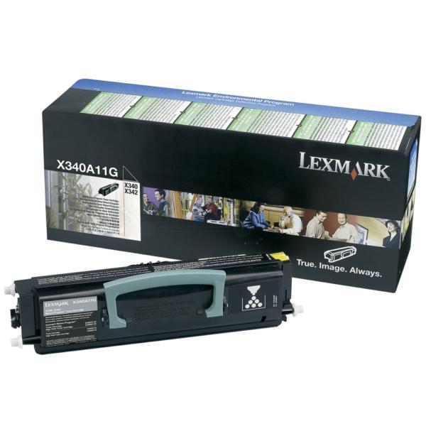 Lexmark X340A11G Toner black, 2.5K pages
