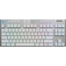 Logitech G G915 TKL teclado RF Wireless + Bluetooth QWERTY Internacional de EE.UU. Blanco