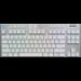 Logitech G G915 TKL teclado RF Wireless + Bluetooth QWERTY Internacional de EE.UU. Blanco