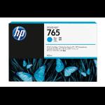 HP F9J52A (765) Ink cartridge cyan, 400ml