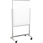MooreCo 74950 magnetic board Silver,White
