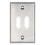 Black Box WP081 wall plate/switch cover Stainless steel