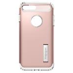 """Spigen Slim Armor mobiele telefoon behuizingen 14 cm (5.5"""") Hoes Roze"""