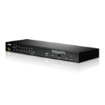 Aten CS1716A Rack mounting Black KVM switch