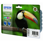 Epson C13T00940210 (T009) Ink cartridge color, 330 pages, 66ml, Pack qty 2