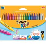 BIC Kids Plastidecor Crayon 8297721 Pk24